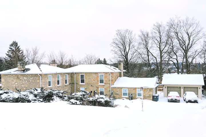 Old Stone Suites {Stylish and Charming Est. 1870}
