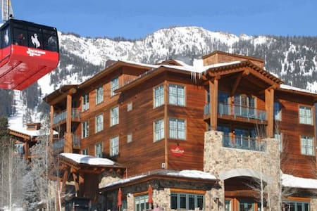 Teton Club-Ski-in/Out to Tram & Gondola-3 Bedroom - Jackson