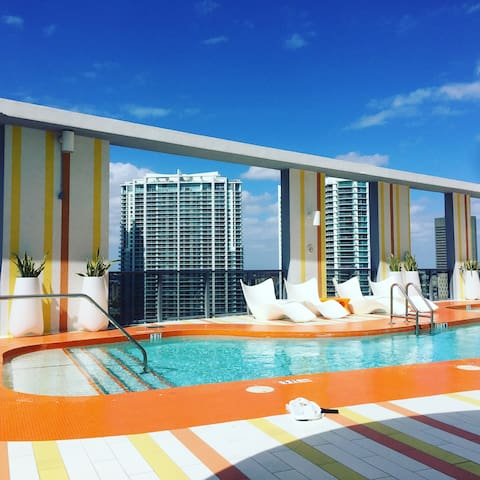Modern Apartment in the Heart of Brickell - Miami - Apartament