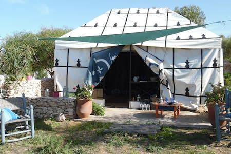 Bivouac sous tente Caïdale, 4 personnes - Marrakesh