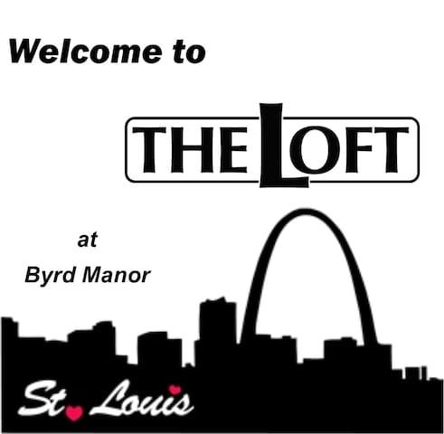 Enjoy The Loft while Exploring STL!