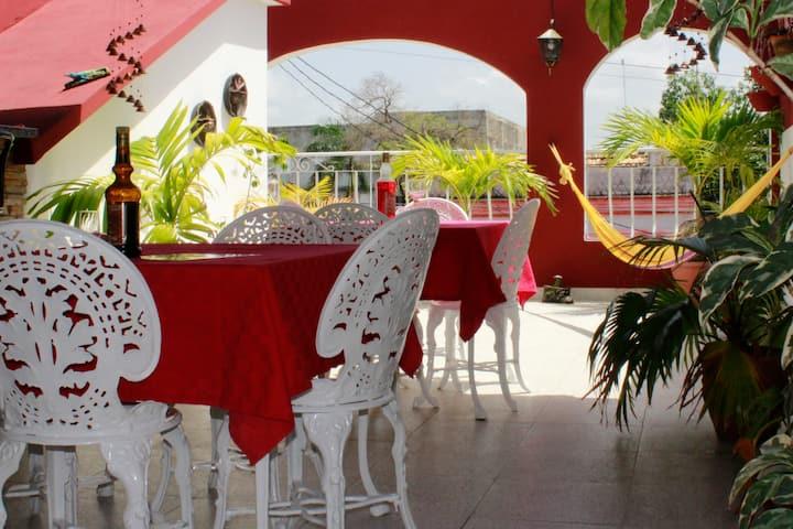 Hostal Almaguer en Cienfuegos - Casa completa