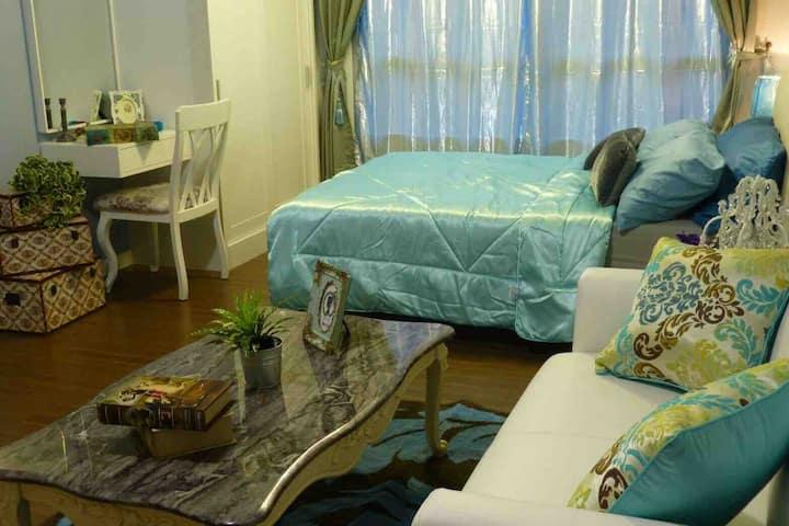 Condo Bann-Thewlom Cha-am  300M to Beach 1 Bedroom