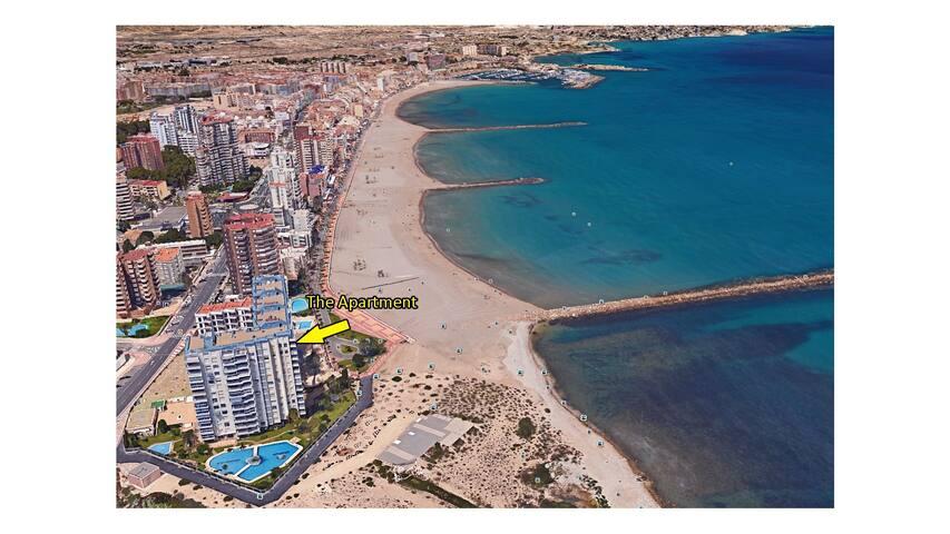 Fantastic 3bdrm apartment 50m beach - Sant Joan d'Alacant - อพาร์ทเมนท์