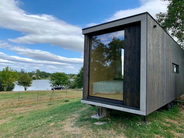 Tiny house tout confort au bord du lac