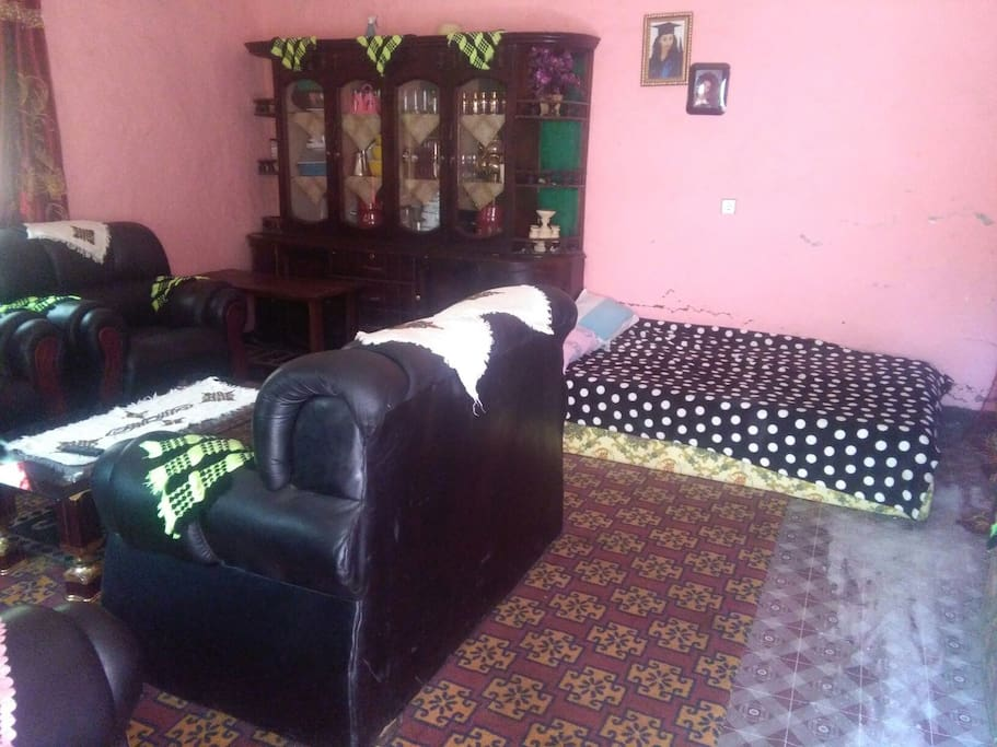 The Dining room of our Lalibela Homestay!