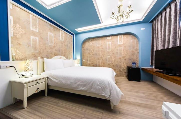 花蓮後站輕旅行民泊//古典奢華雙人套房 - Hualien City - Haus