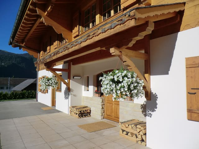 Chalet Mountain View, a very happy place to stay - Château-d'Œx - Apartmen