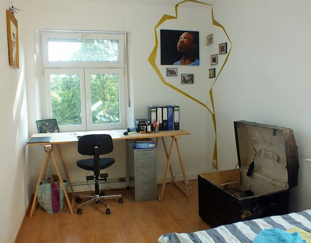 Beautiful room directly at the Regnitz - Bamberg - Appartement