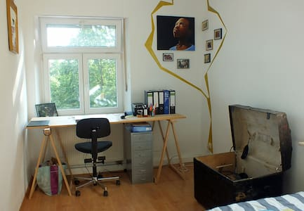 Beautiful room directly at the Regnitz - Apartament