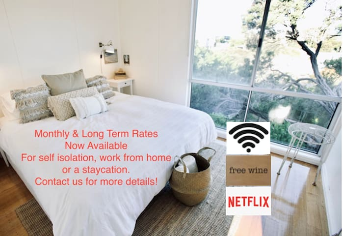 BeachHouseSorrento☆Spa☆WIFI☆Netflix☆Wine☆Walk2Town