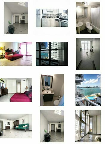 Bayview 1BR Condo with pool and gym - Miami Beach - Appartement