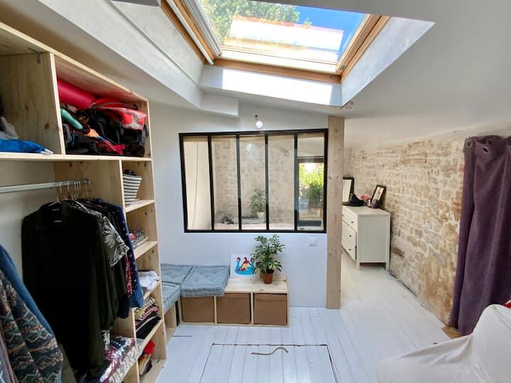 Petite maison atypique au cœur de La Rochelle