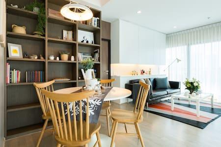simple minimal [ミニマリスト] 5 mins from BTS Thonglor - 曼谷 - 公寓