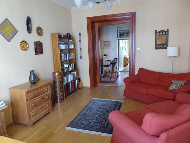 Beautiful and spacious home in central Prague . - Praga - Apartamento