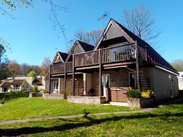 3 bedroom modern cornwall countryside lodge - Gunnislake