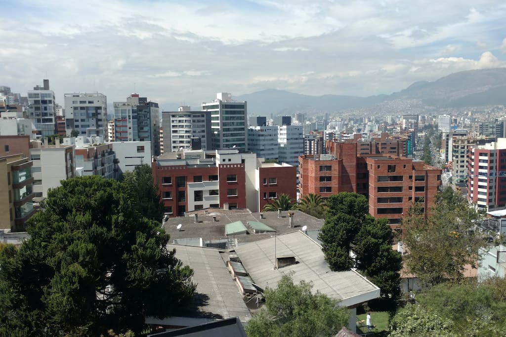 VISTA PANORAMICA DE LA TERRAZA DEL EDIFICIO