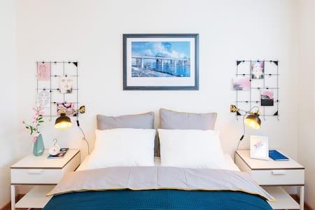 Beautiful garden apartment, View to Rigi Mountain