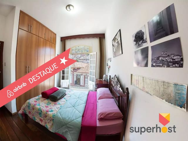 Casa da Varanda   Suite Casal Private Room