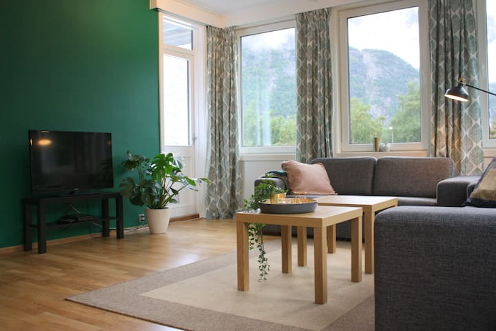 Very nice 3-bedroom apartment close to Trolltunga