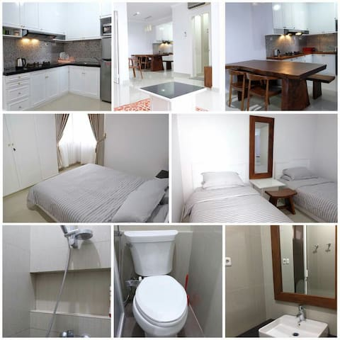 Woody White's Nest Apartment in Jogjakarta - Kecamatan Depok - Apartment