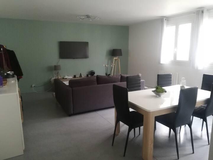 Grand appartement de 63 m2