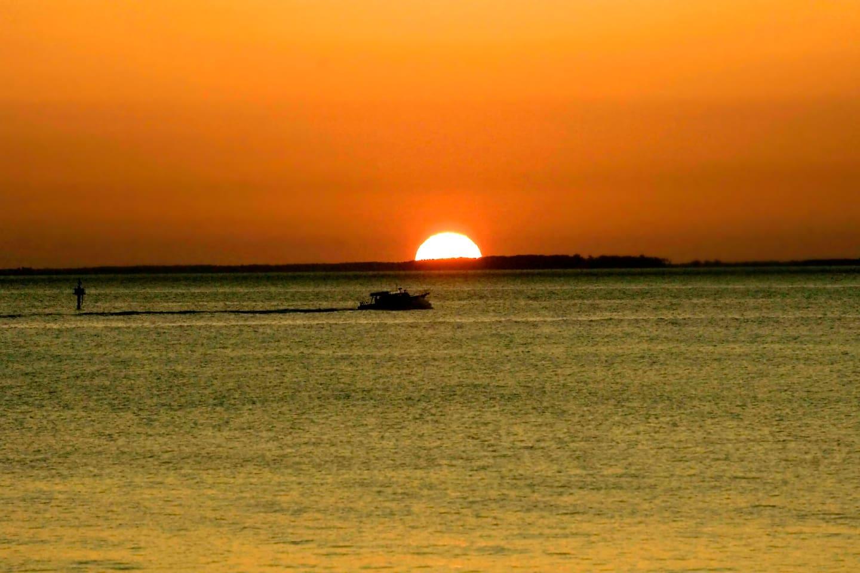Awaken to beautiful sunrises on the Chesapeake Bay an artists retreat awaits you
