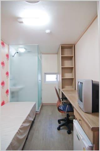 新村、弘大附近的私人房间