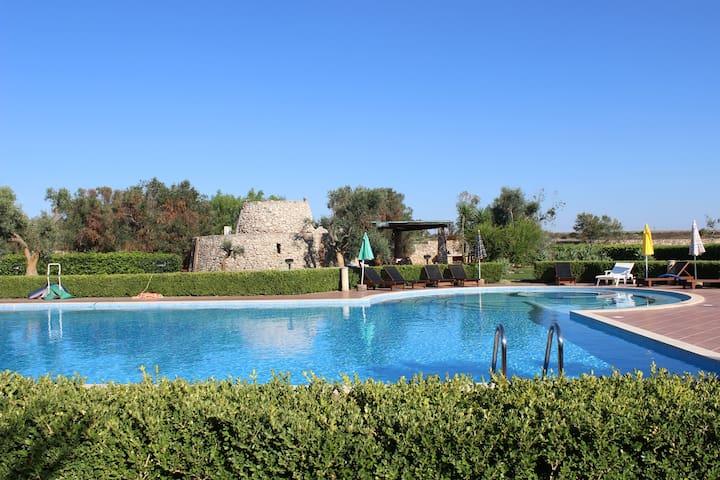 Villa a Rivabella vicino Gallipoli