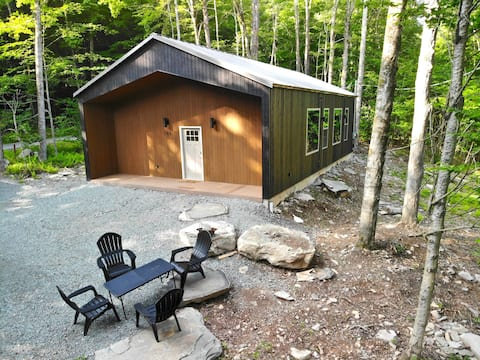 Brand New Modern Cabin Secluded in the Woods