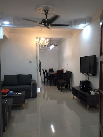 Double storey fully furnished homestay