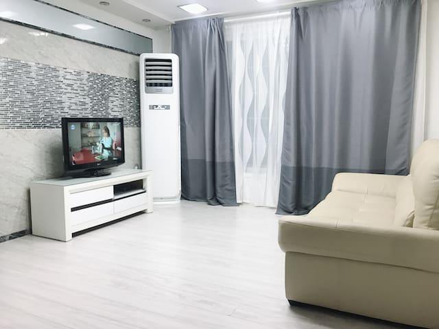 5min 부평역 넓은 오피스텔 테마의거리 Incheon Bupyung station spacious 2room