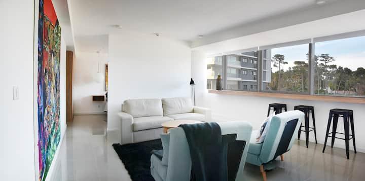 Modern apartament near the beach.