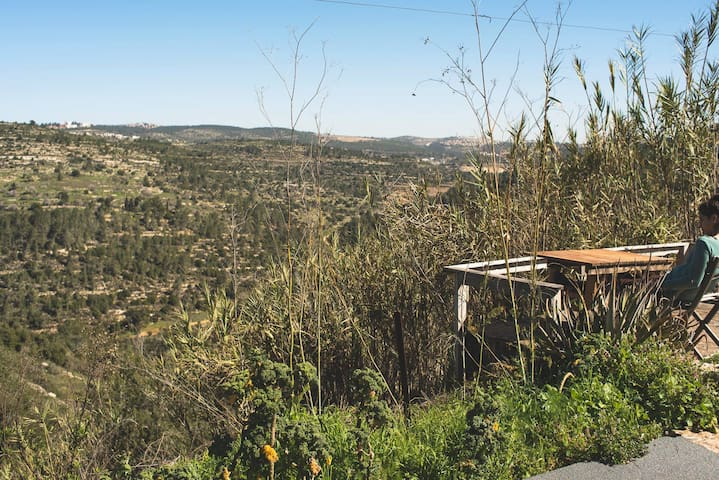 A lovely place in the mountain's of Jerusalem - Giv'at Ye'arim - Casa