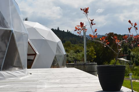 """Vulcano Camp, Glamping & Hot tub"" Puerto Varas D1"