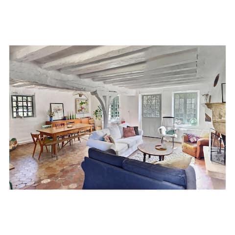 Maison de campagne «La pommeraie» (proche Giverny)