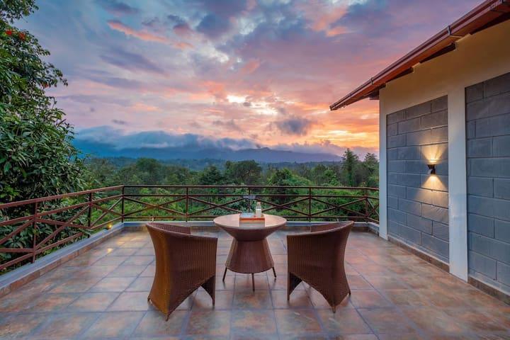 """Vanandhaara"" Wildlife I Villa 1 | Homestay Coorg"