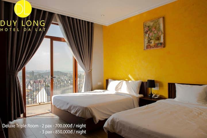 Duy Long Hotel - Deluxe Triple Room 2