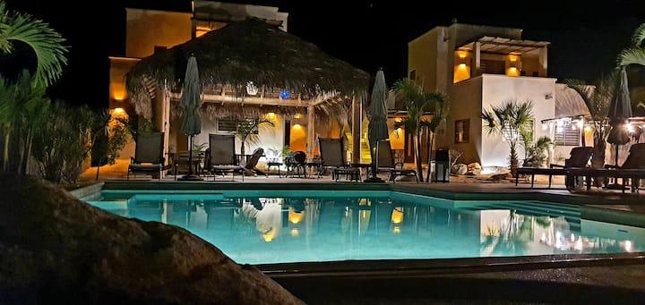 Vista Tortuga – 2 Villas CORAL & AZUL by the BEACH
