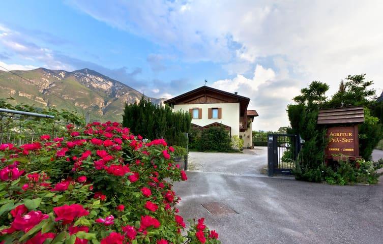 Ampio monolocale con loggia nel verde a Trento sud - Romagnano - Apartemen