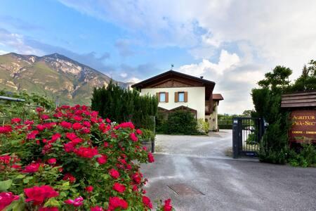 Ampio monolocale con loggia nel verde a Trento sud - Romagnano - Apartamento