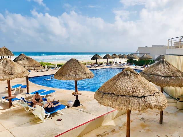 Hermosa vista al Mar,departamento en Zona Hotelera