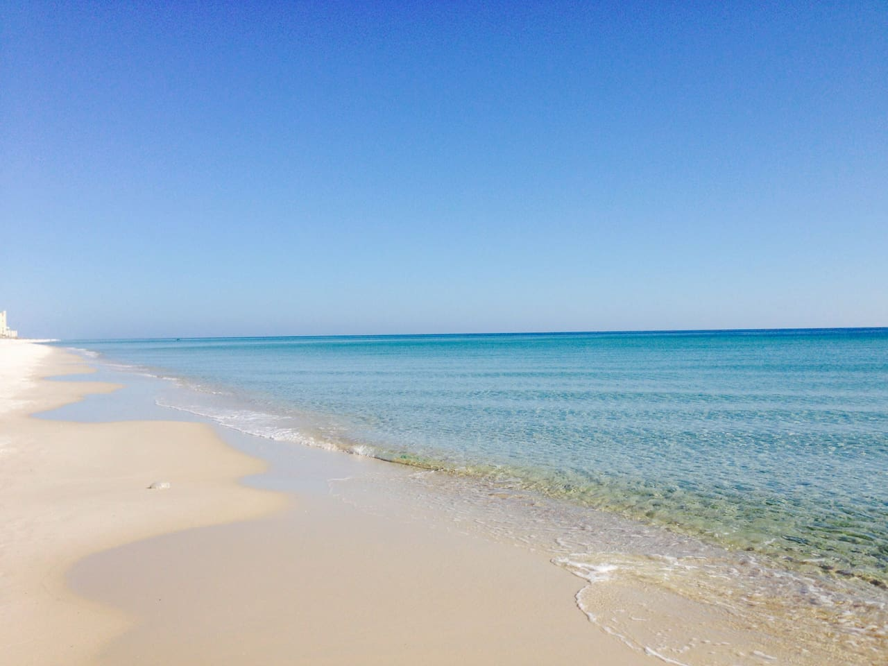 Sugar white sand and blue/green waters... Welcome to Perdido!
