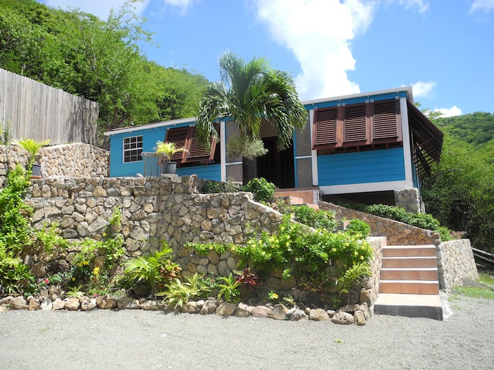 Vagabond Cottage  - Caribbean house with sea view