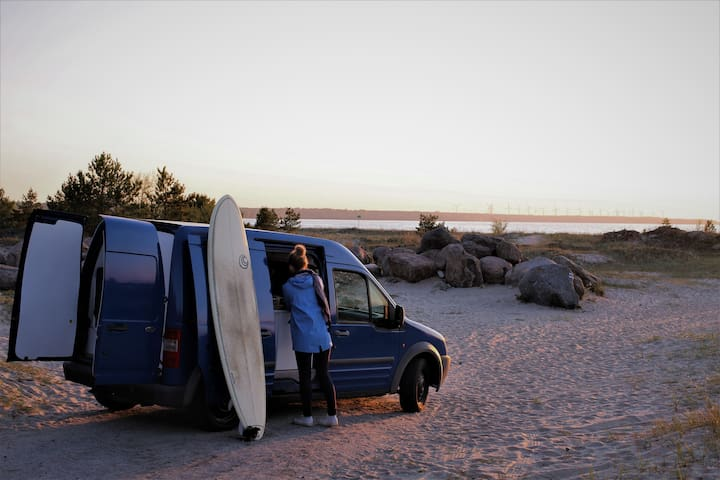 Compact camper van for adventures of a lifetime