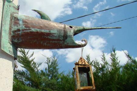 casa del pesce guardiano Salento Ionio 5 min  mare