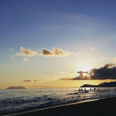 Sperlonga - ampio terrazzo fronte mare