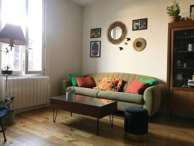 Chambre privée dans maison, 15 mn du centre ville