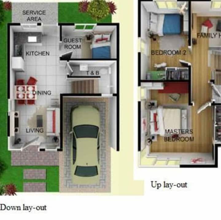 4Rent House & Lot-2 Storey- Laguna, Philippines