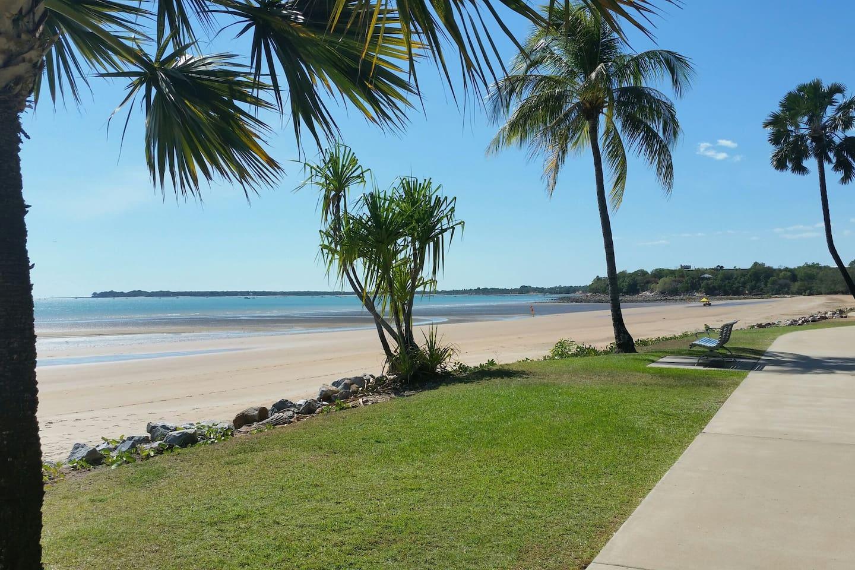 Mindil Beach rear of  Skycity Casino 6 minutes walk